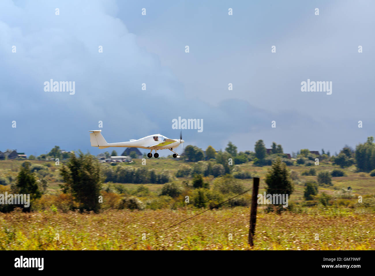 Small plane - Stock Image