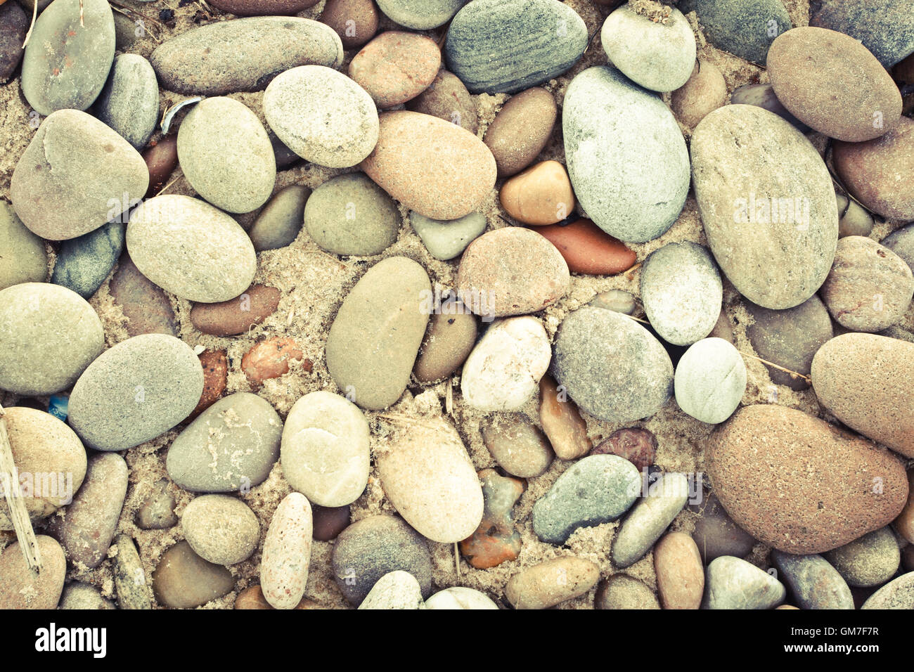 Circle Of Pebbles Stock Photos & Circle Of Pebbles Stock Images - Alamy