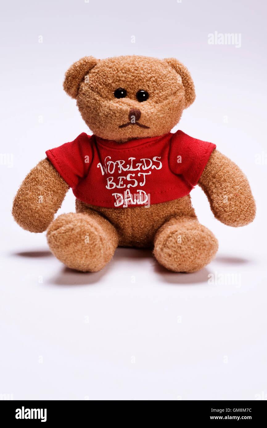 plush bear - Stock Image