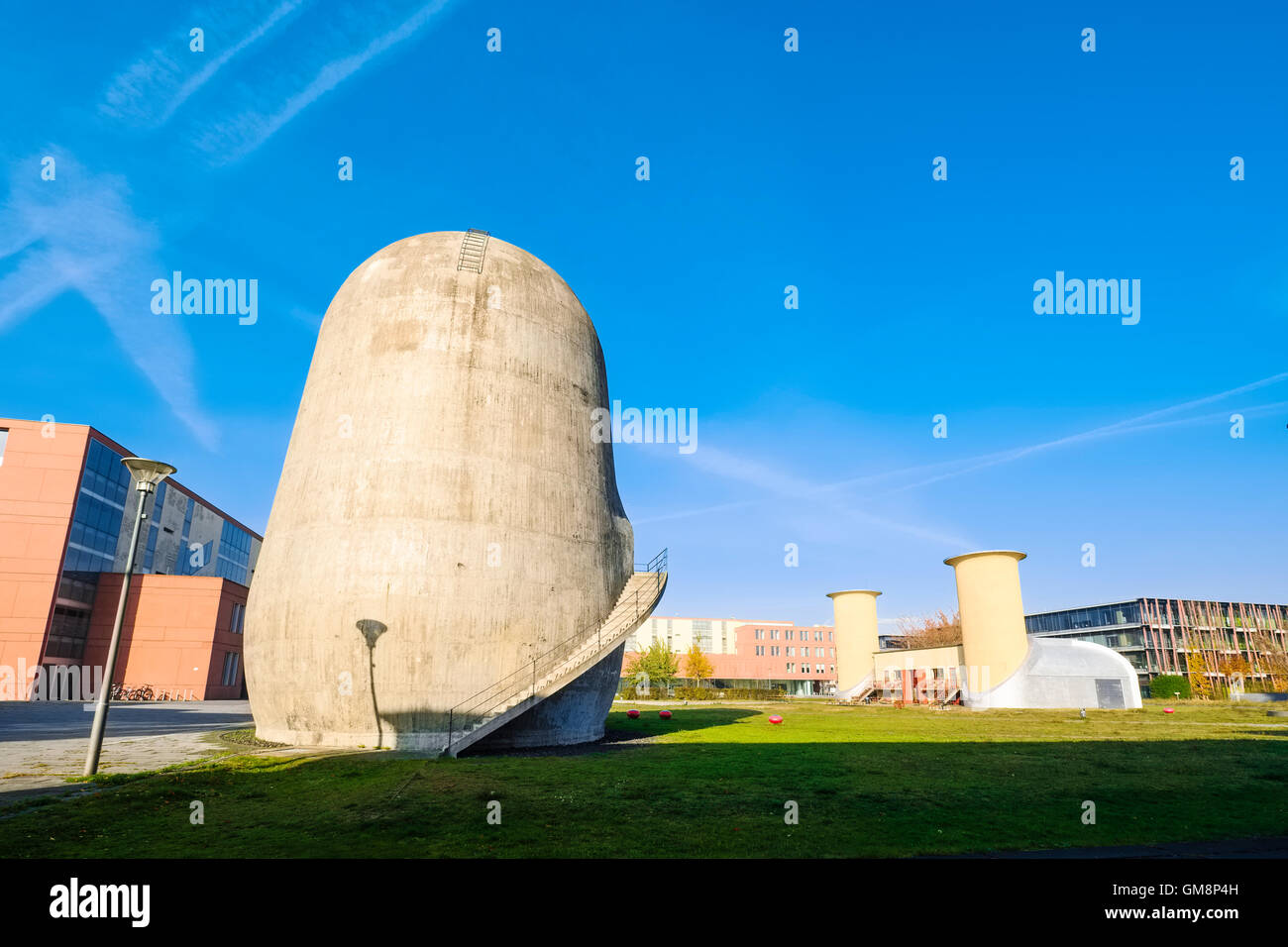 Trudelturm, Aerodynamic Park, Berlin-Adlershof, Germany Stock Photo