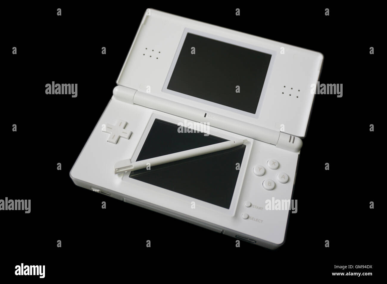 Nintendo Ds Lite White Game Console Stock Photo 115756422 Alamy