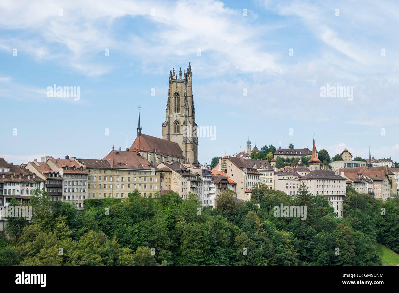 Canton Fribourg Freiburg Switzerland Fribourg Stock Photos & Canton ...