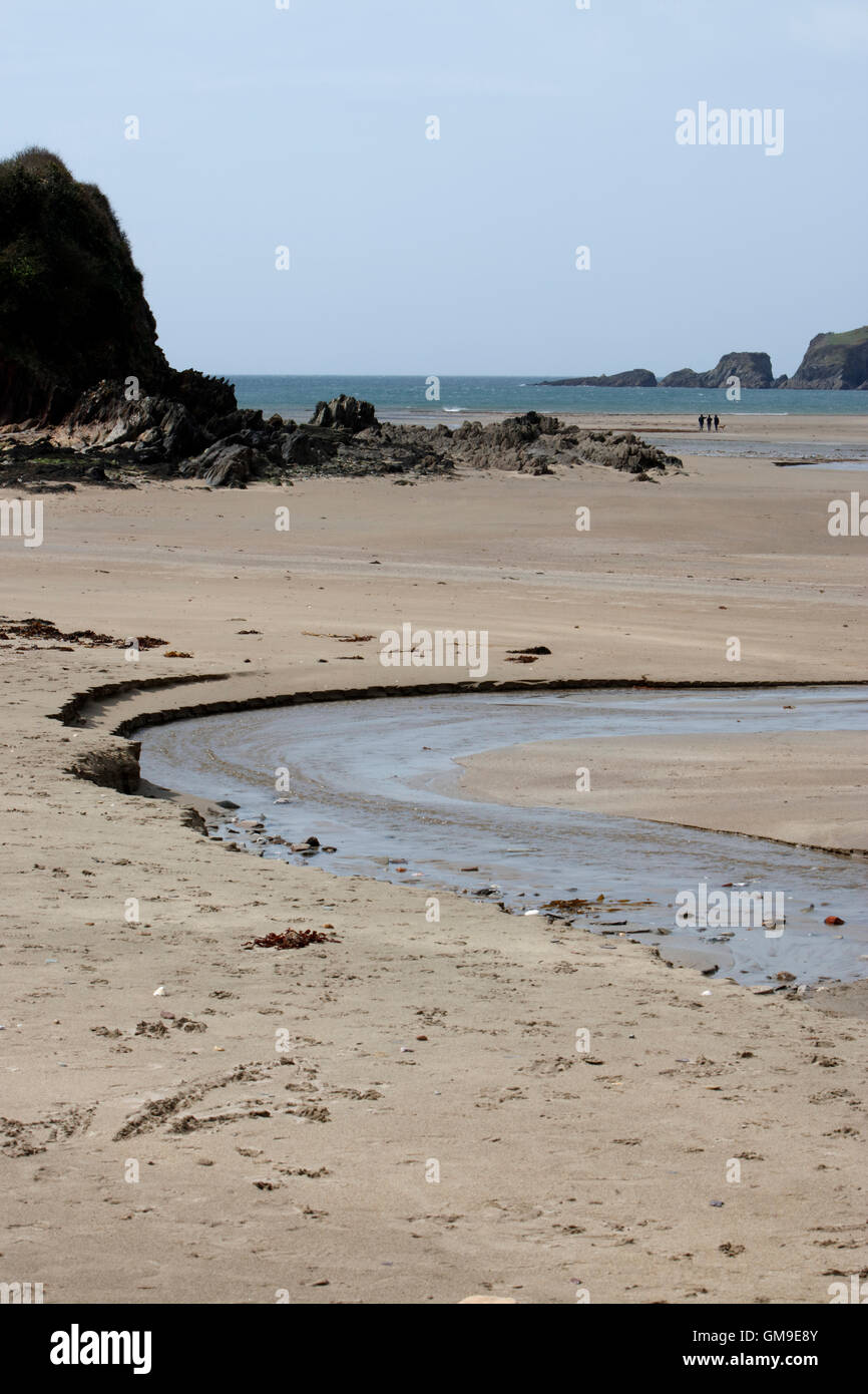 Erme Mouth, Devon, England, UK - Stock Image
