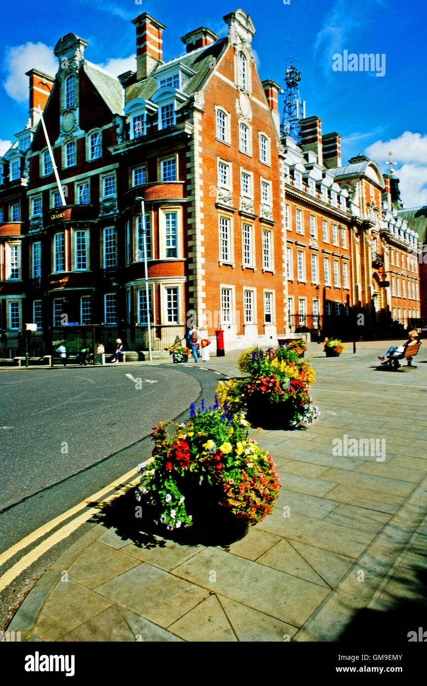 The Grand Hotel ( ex North Eastern Railway Headquarters ) York - Stock Image