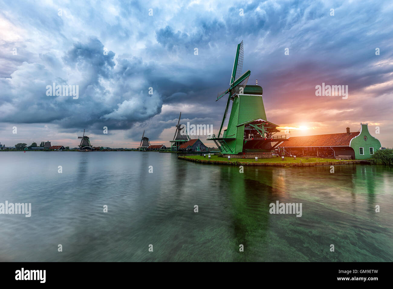 Stormy beauty - Stock Image