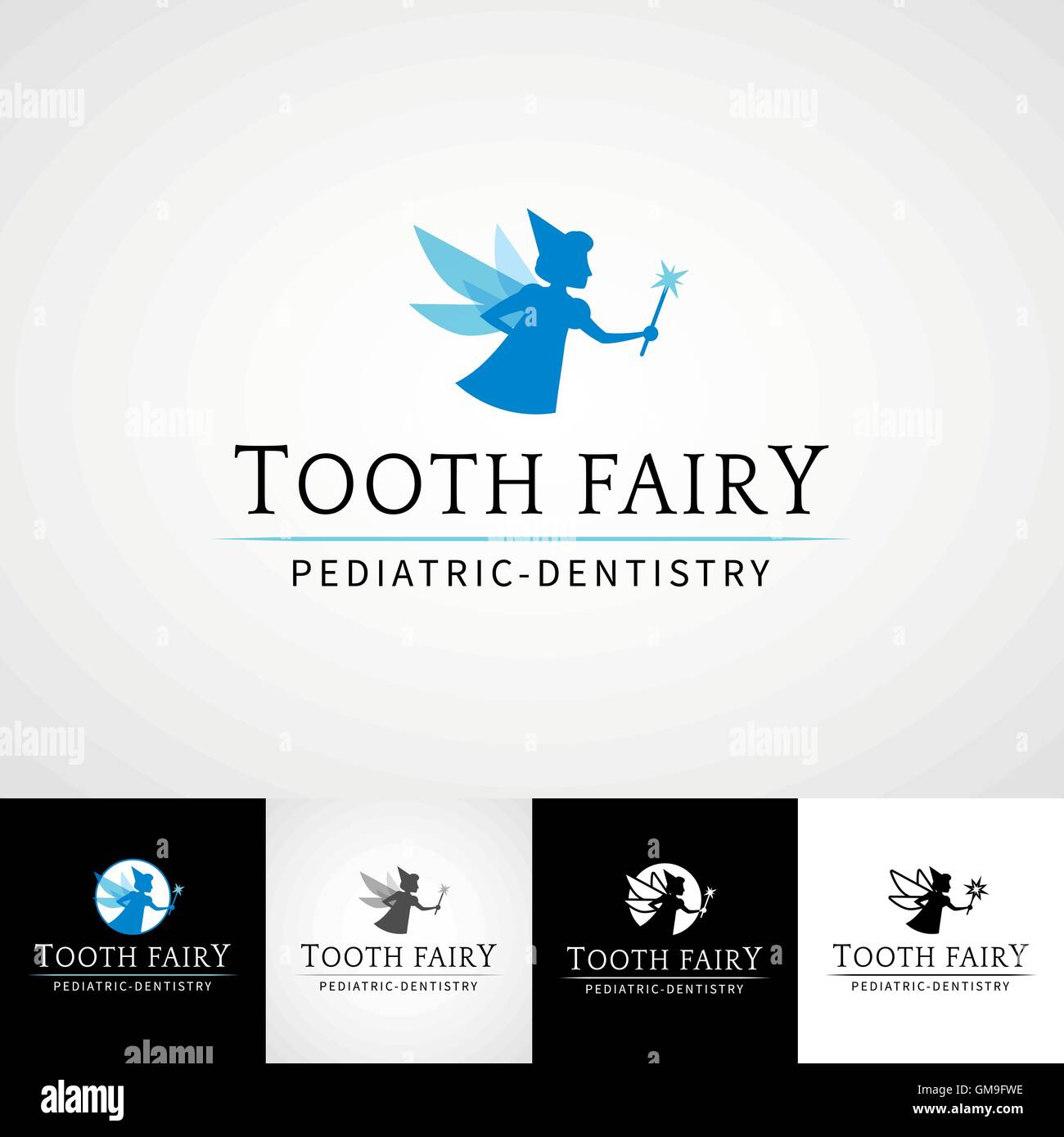 image regarding Tooth Fairy Stationary named Teeth fairy dental emblem template. Teethcare icon established