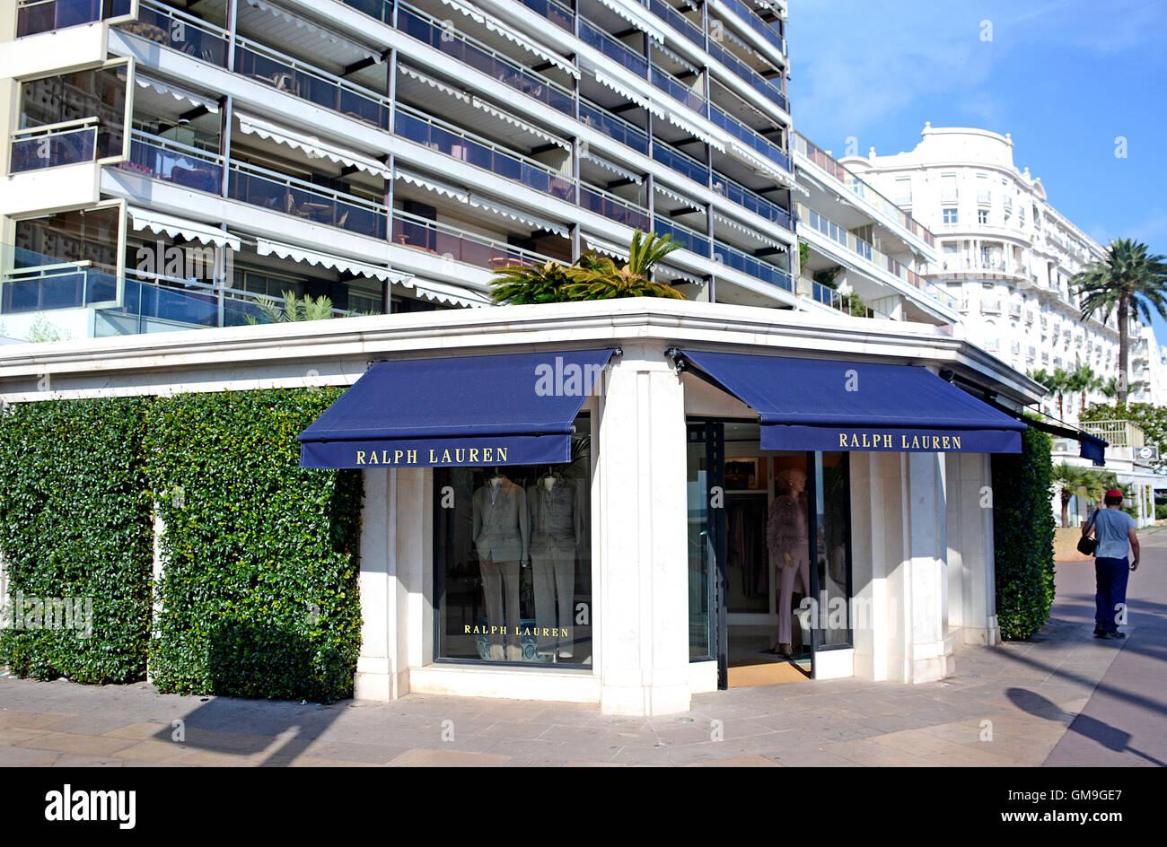 3ebd301e5da8 Ralph Lauren boutique Boulevard de la Croisette Cannes Provence-Alpes-Cote  d Azur France