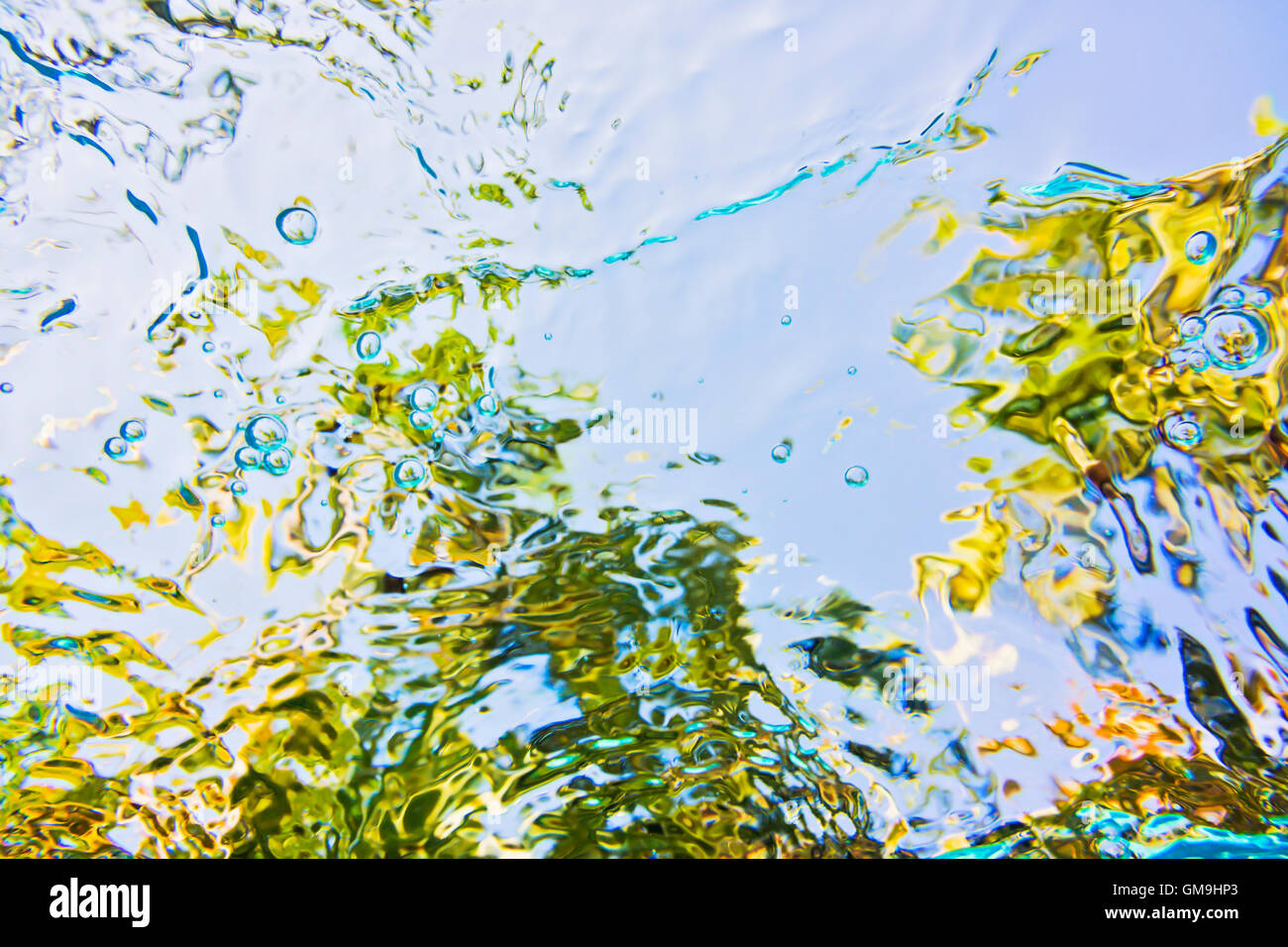 Rippled water - Stock Image