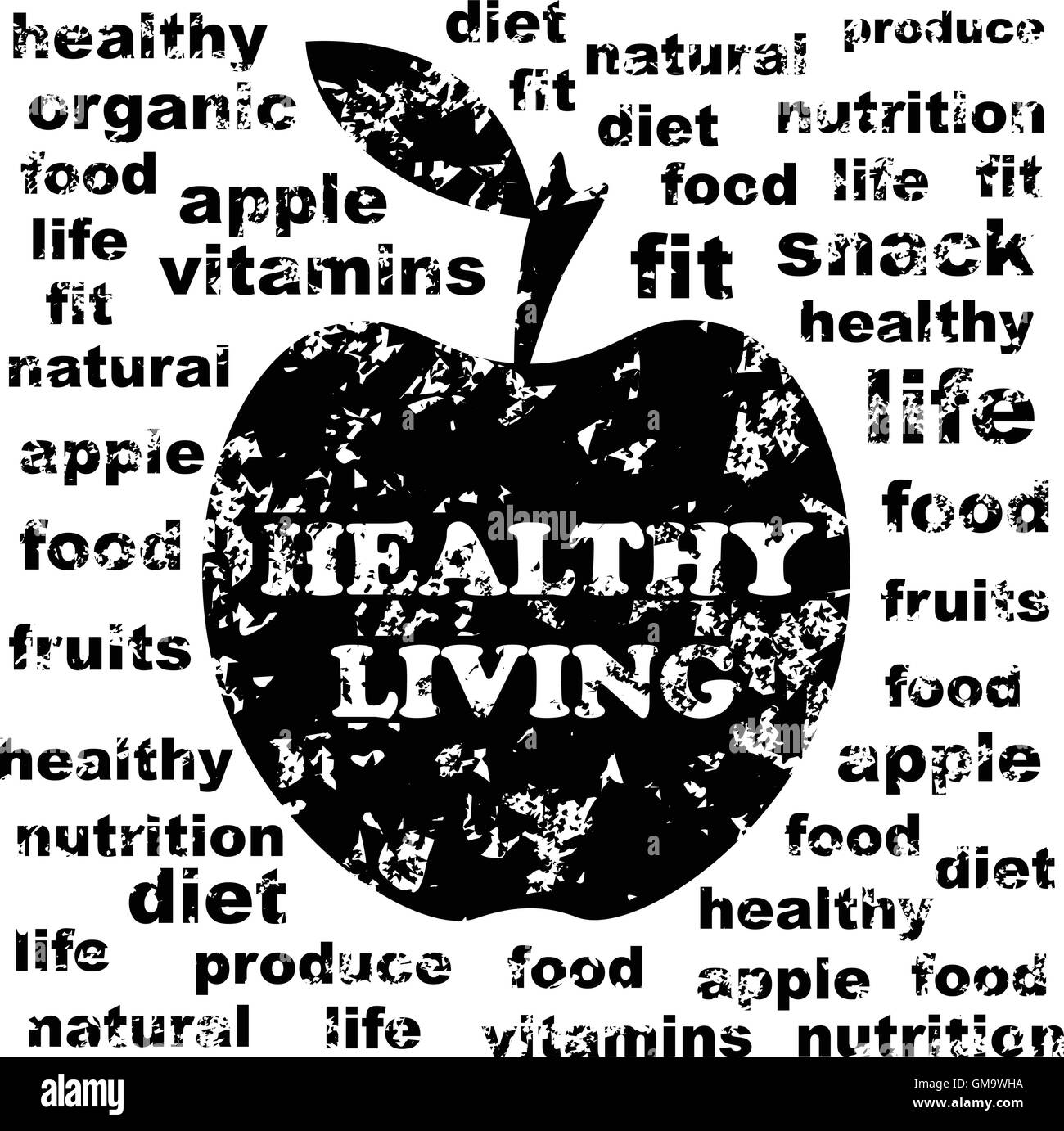 Healthy living - Stock Image
