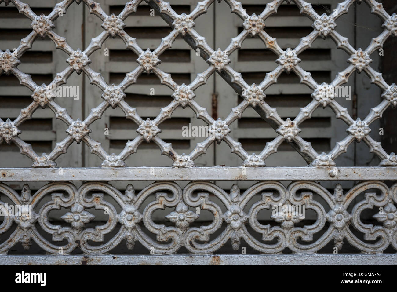 Window Grill High Resolution Stock Photography And Images Alamy