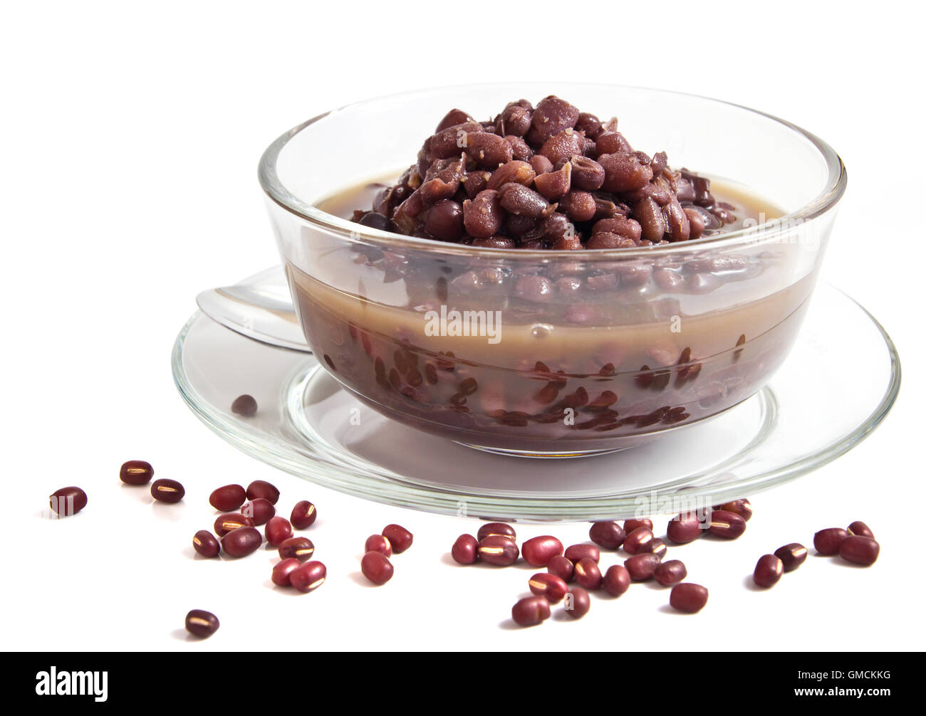 Red bean soup - Stock Image