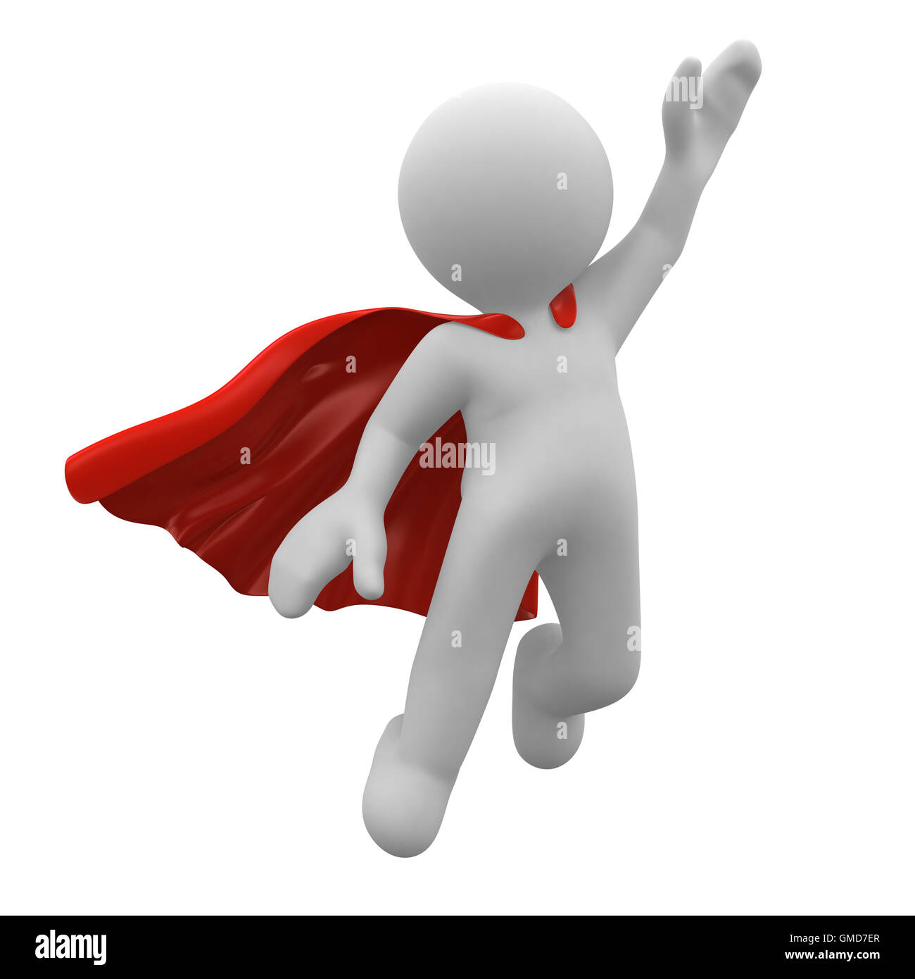 Super hero - Stock Image