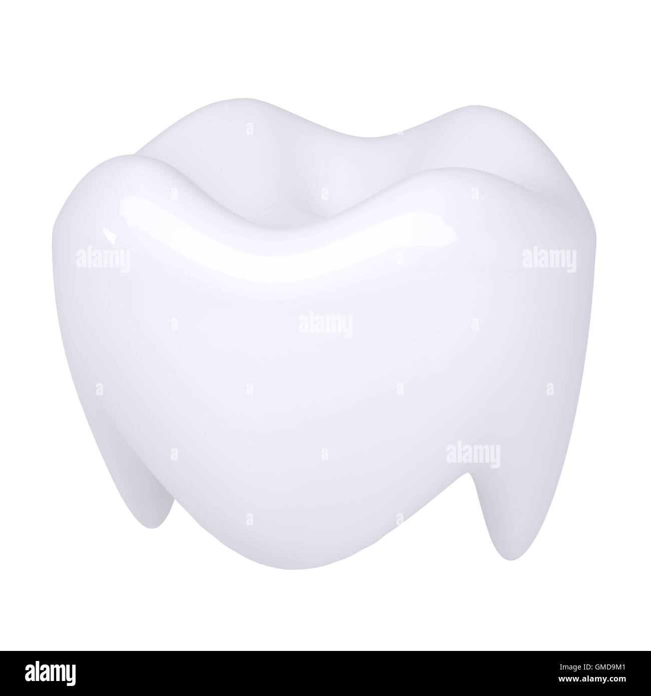 White tooth - Stock Image