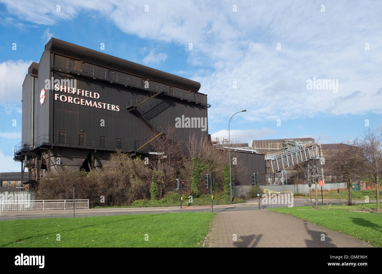 Sheffield Forgemasters steelworks - Stock Image
