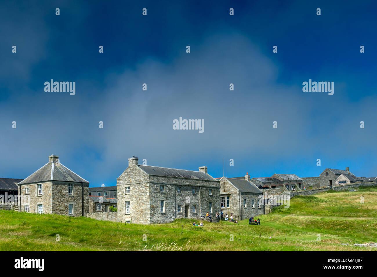 Lundy Island - Stock Image