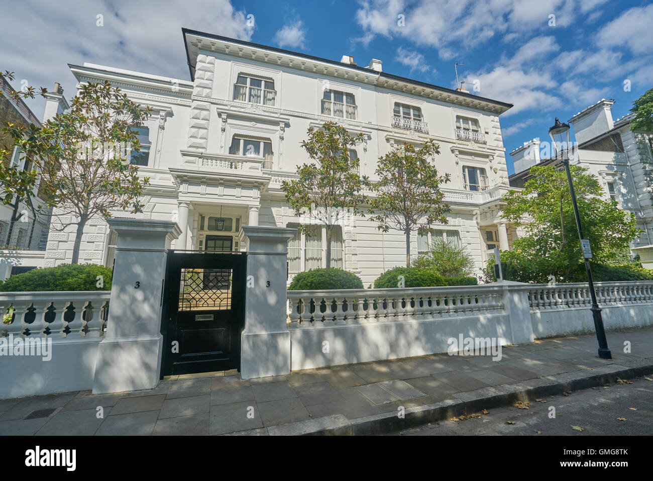 The Boltons, Bolton Gardens, expensive property London - Stock Image