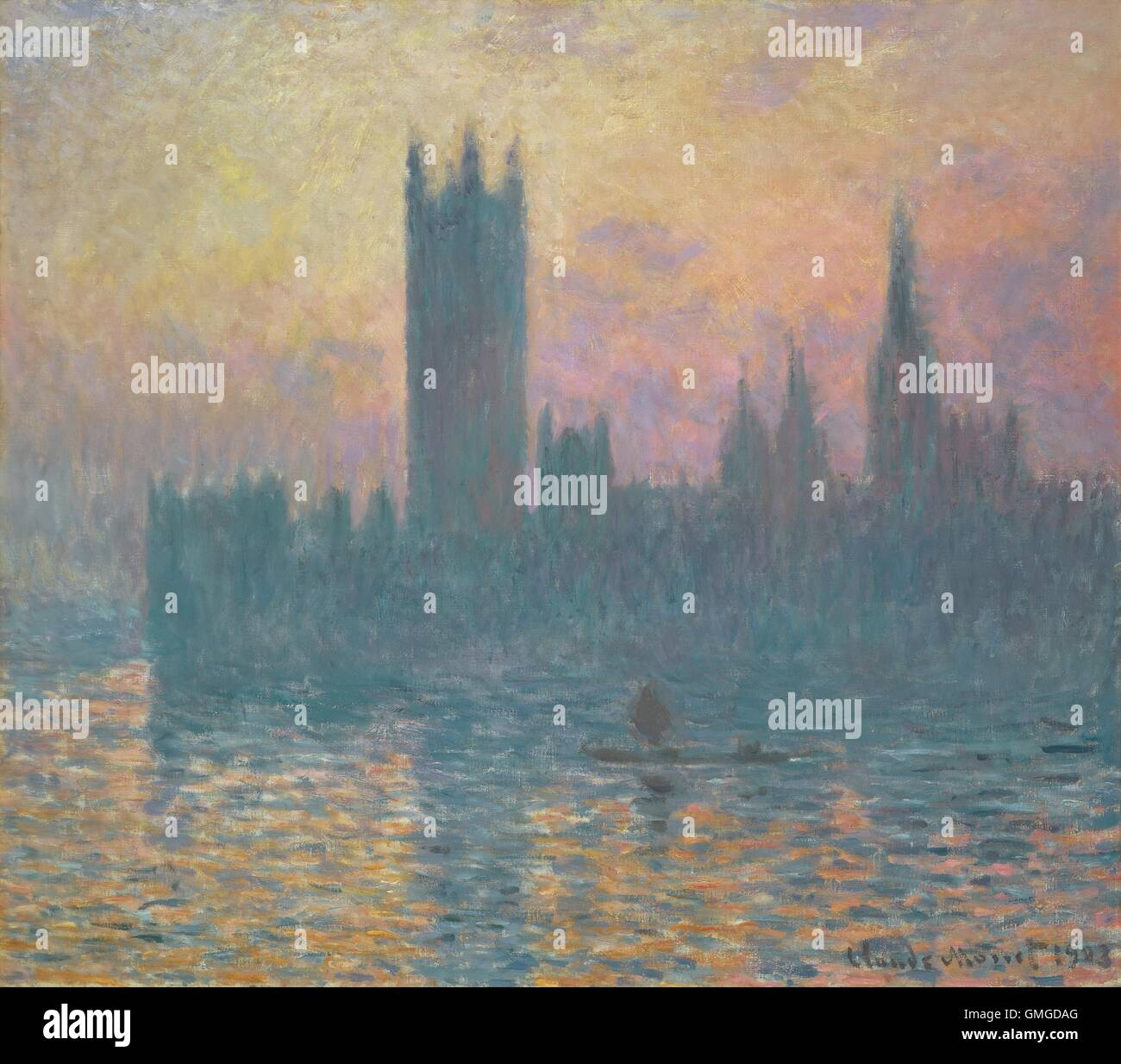 1903 french impressionist painting oil on canvas between 1899 and 1901 monet made three trips to london specifically to paint bsloc 2016 5 121