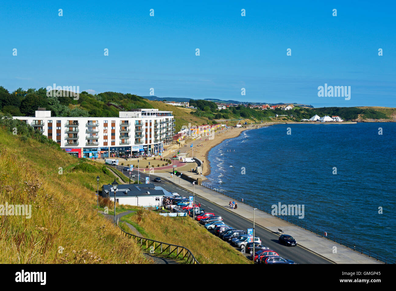 North Bay, Scarborough, North Yorkshire, England UK - Stock Image