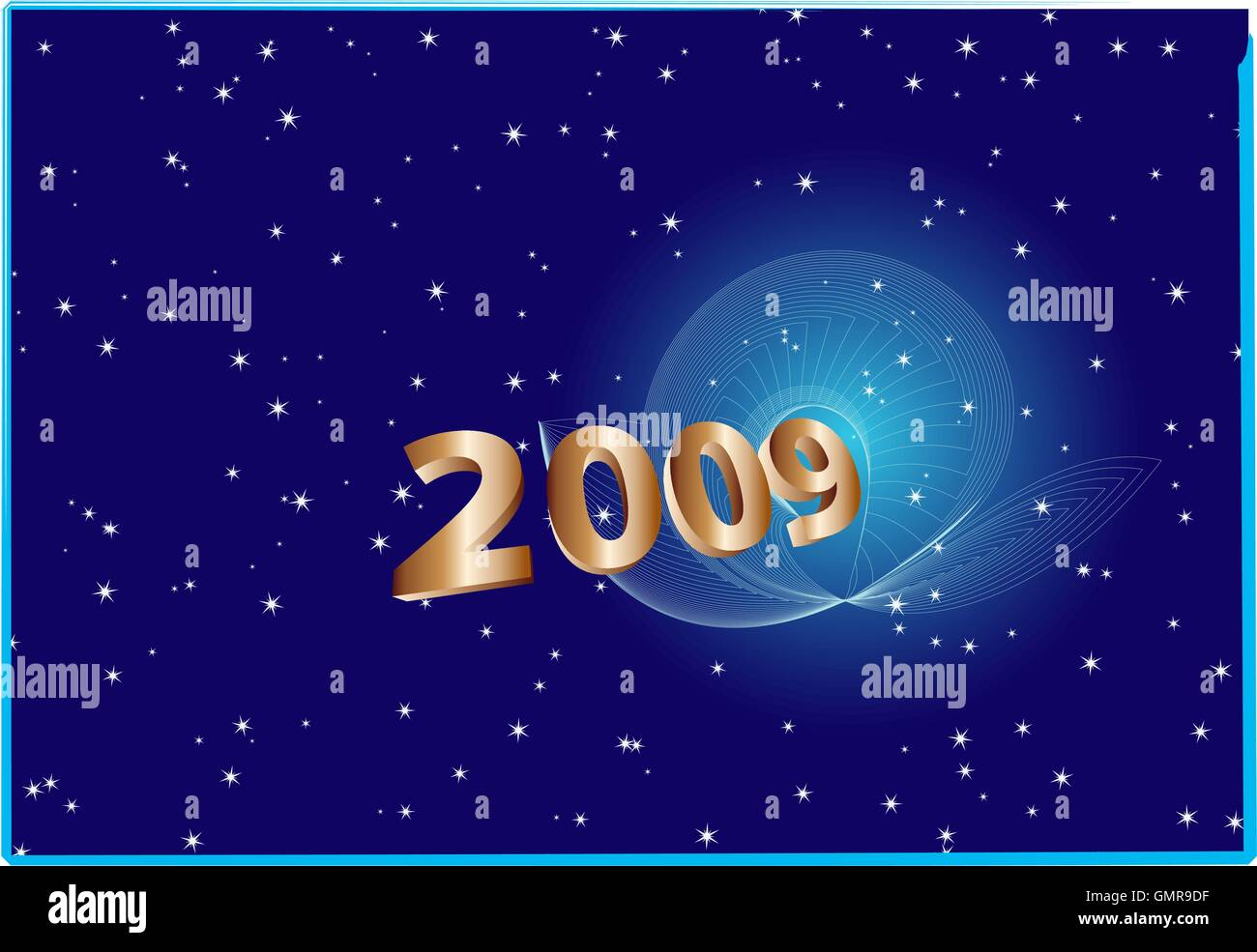 Happy New Year Design - Stock Vector