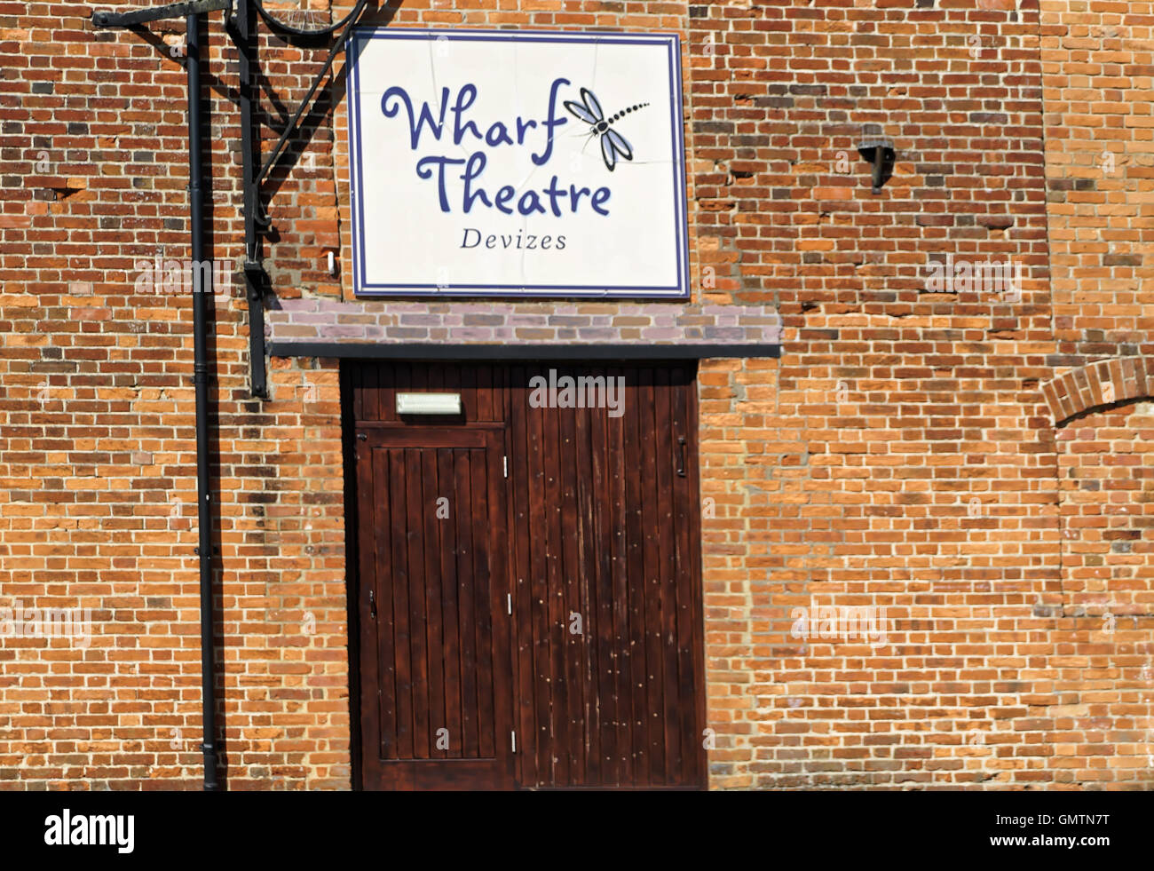 wharf Theatre in Devizes Wiltshire - Stock Image