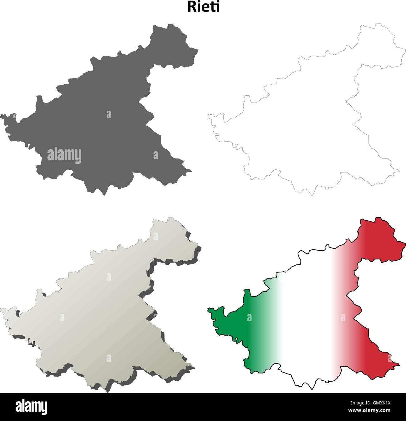 Rieti Italy Map.Rieti Italy Stock Vector Images Alamy