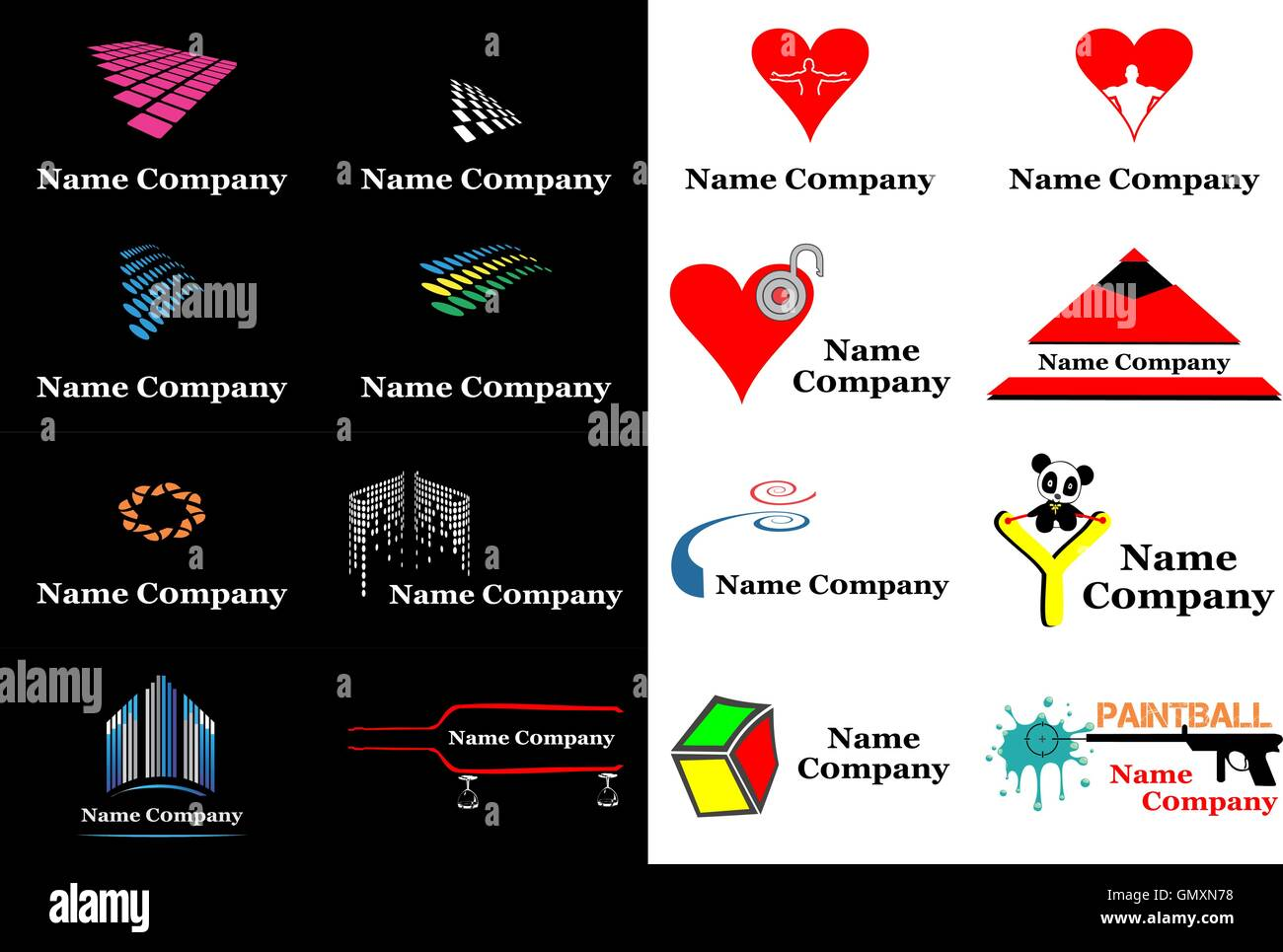 Company Logos Stock Photos & Company Logos Stock Images - Alamy
