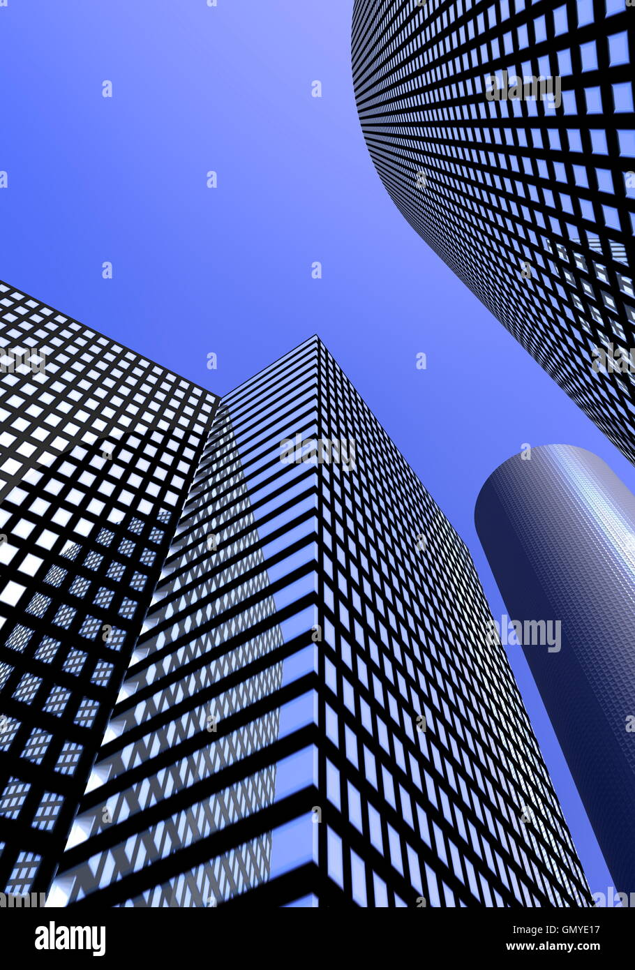 Office buildings - Stock Image