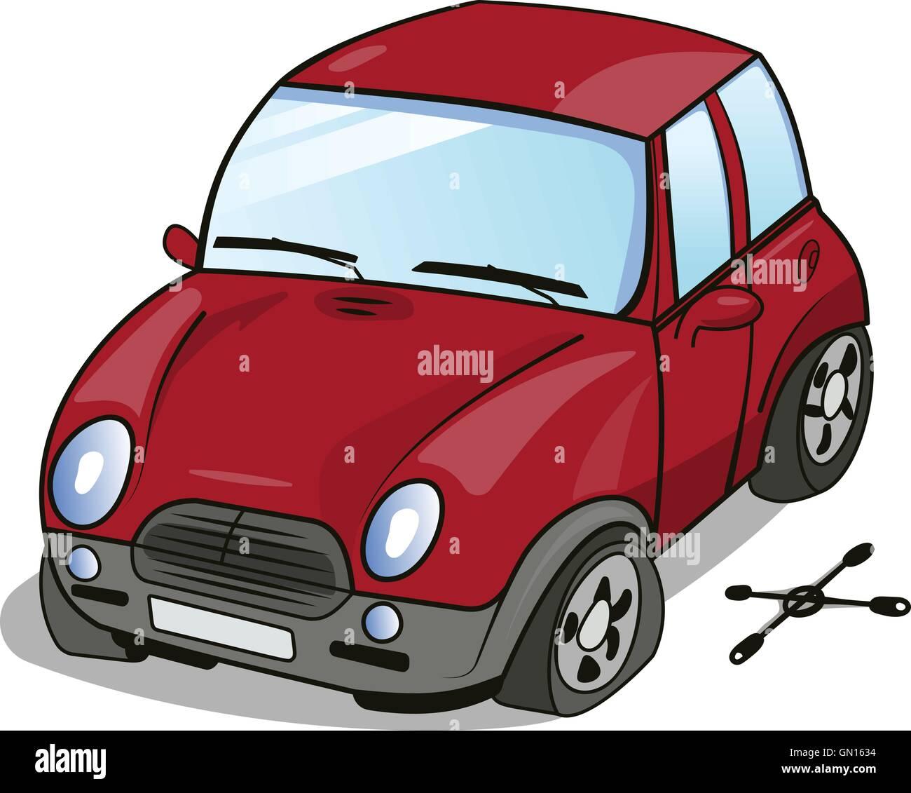 Car Stock Photos: Cartoon Crash Car Stock Photos & Cartoon Crash Car Stock