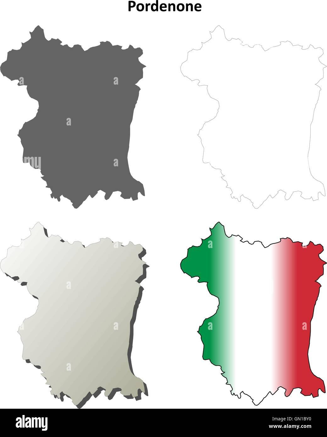 Pordenone Italy Stock Vector Images Alamy
