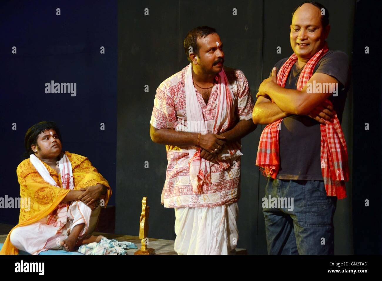 Assamese Drama performed by the actors of Abinaswar Gosthi