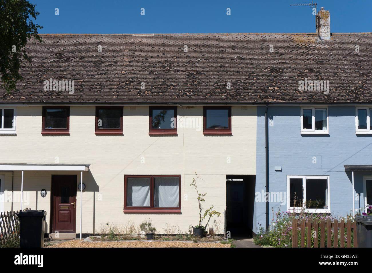 local authority council housing cambridge UK Stock Photo