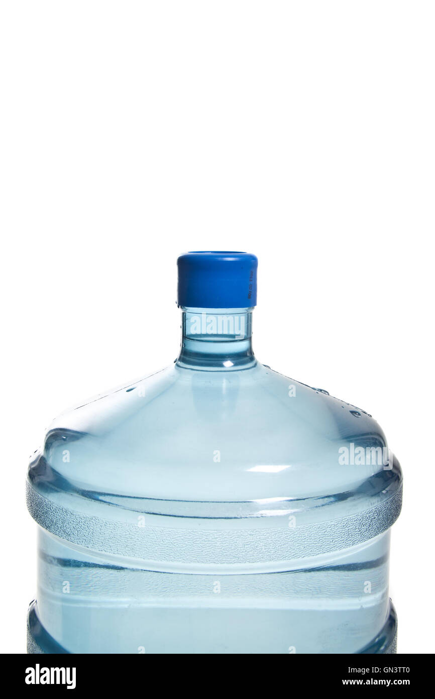 big plastic bottle for potable water - Stock Image