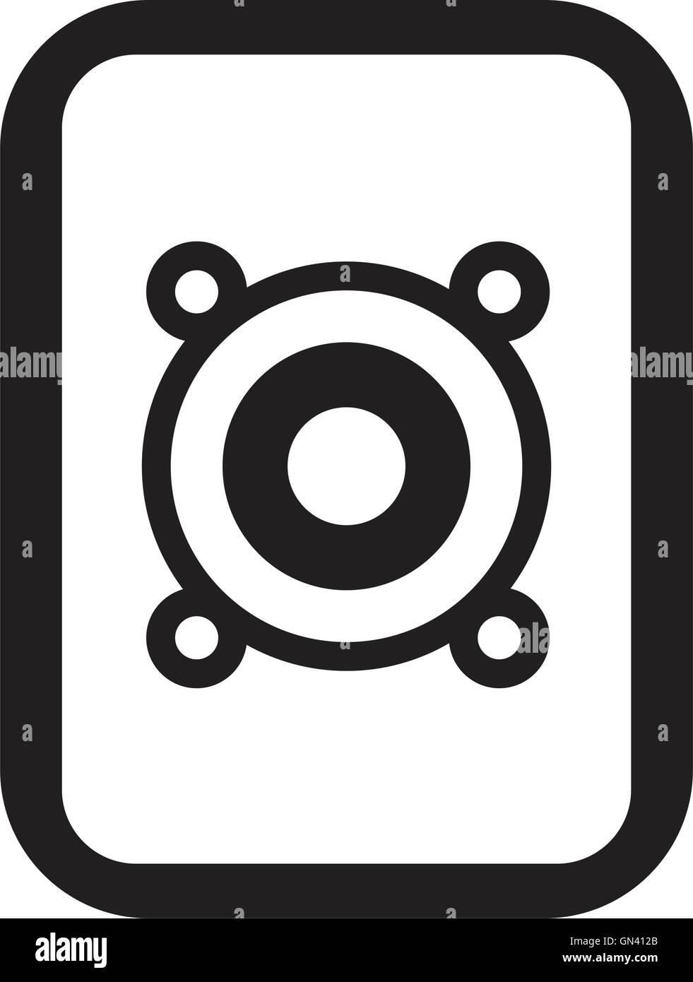 Loud Music Icon Stock Vector Art Illustration Vector Image