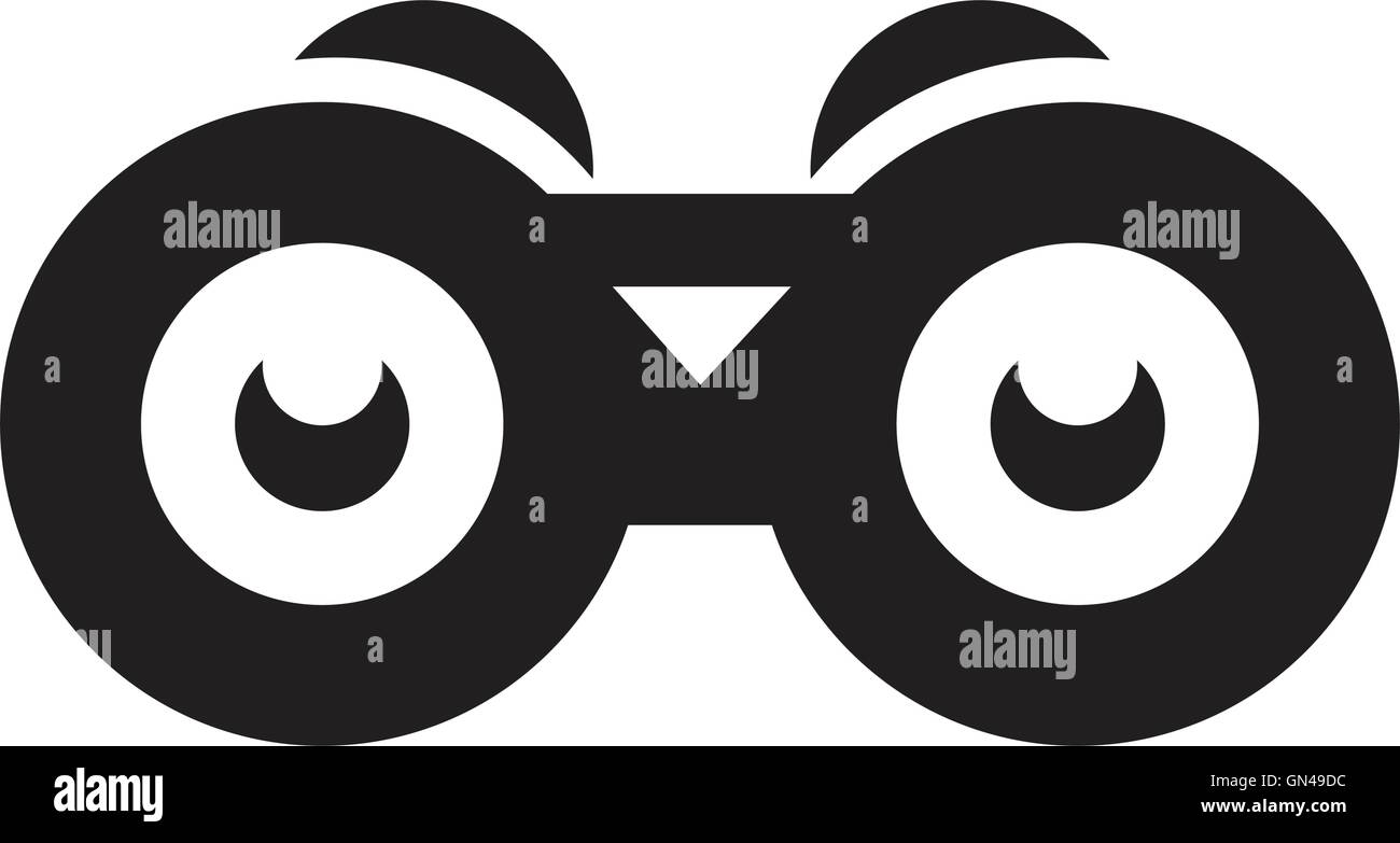 Binoculars Military Equipment Icon Image Stock Photos