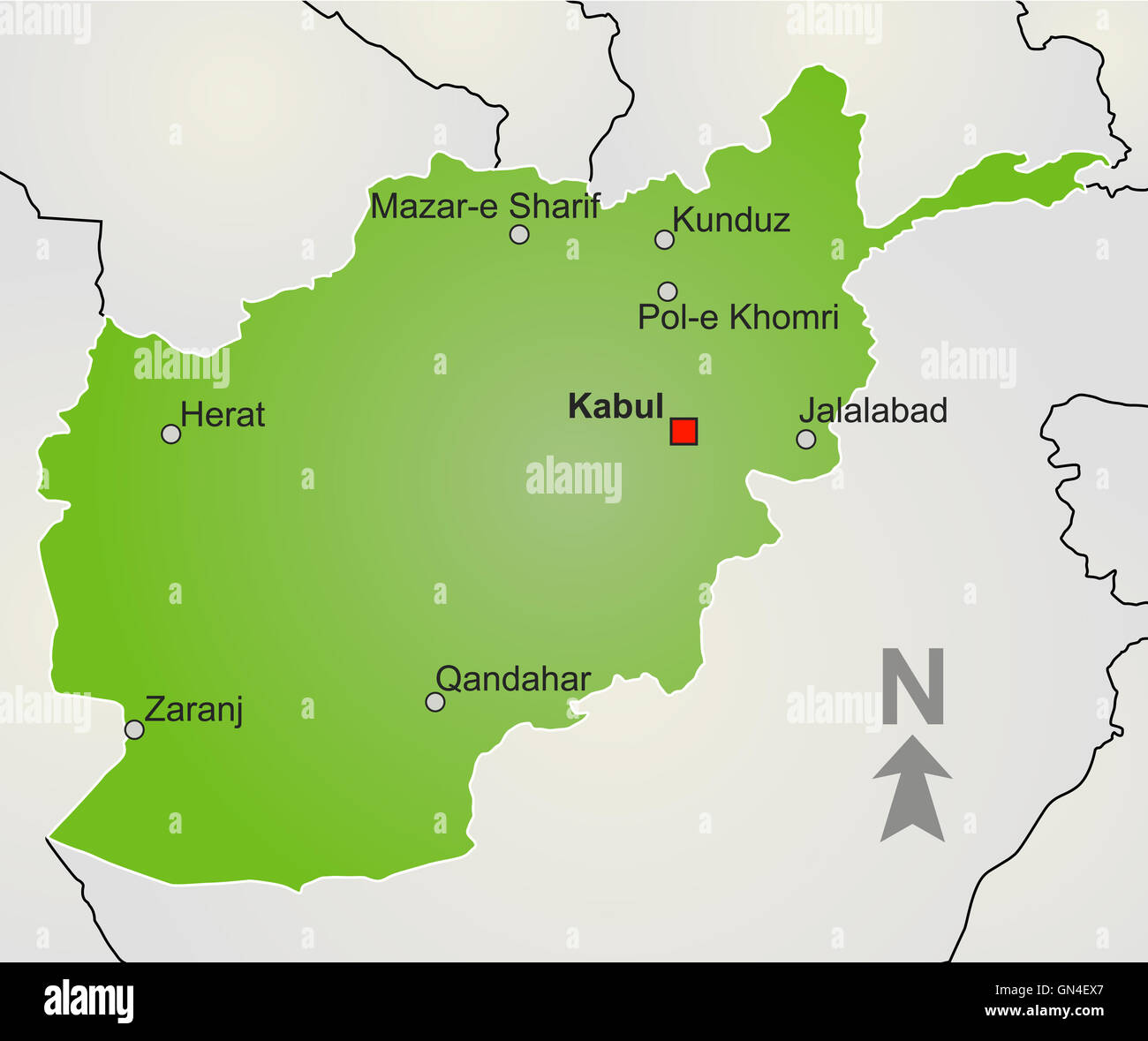 Afghan map stock photos afghan map stock images alamy a stylized map of afghanistan stock image gumiabroncs Choice Image