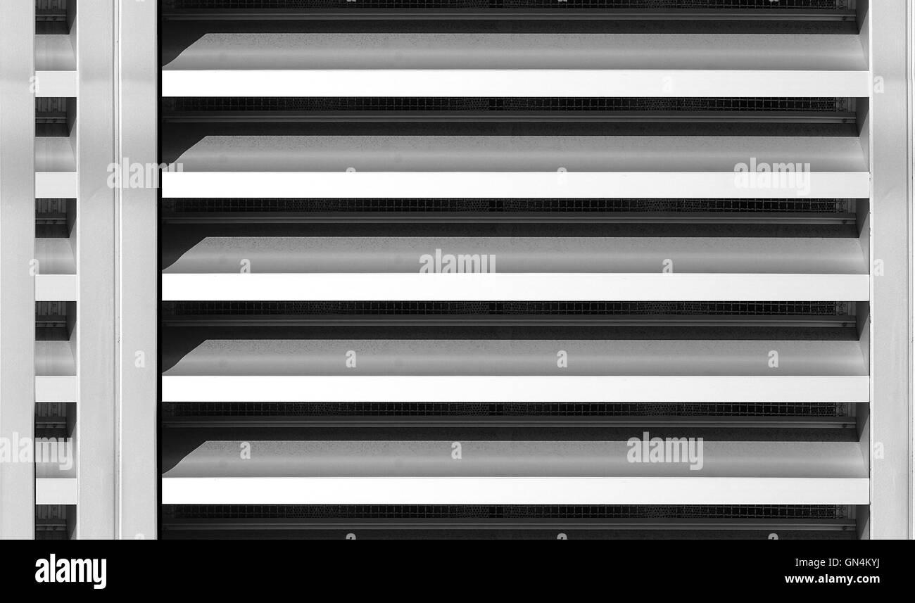 isolated Ventilator fan close up - Stock Image