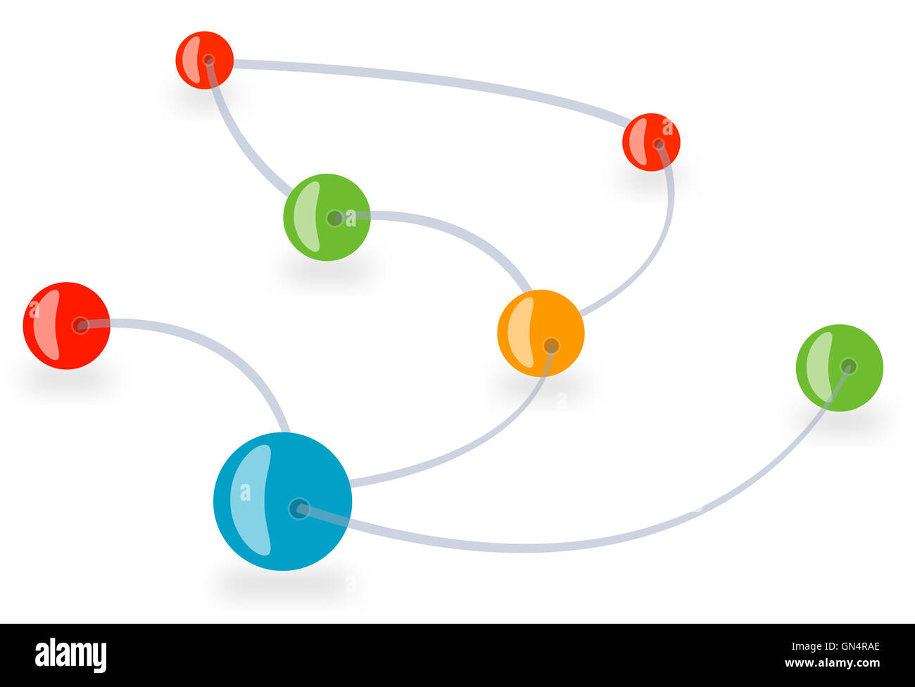 Connections - Stock Image