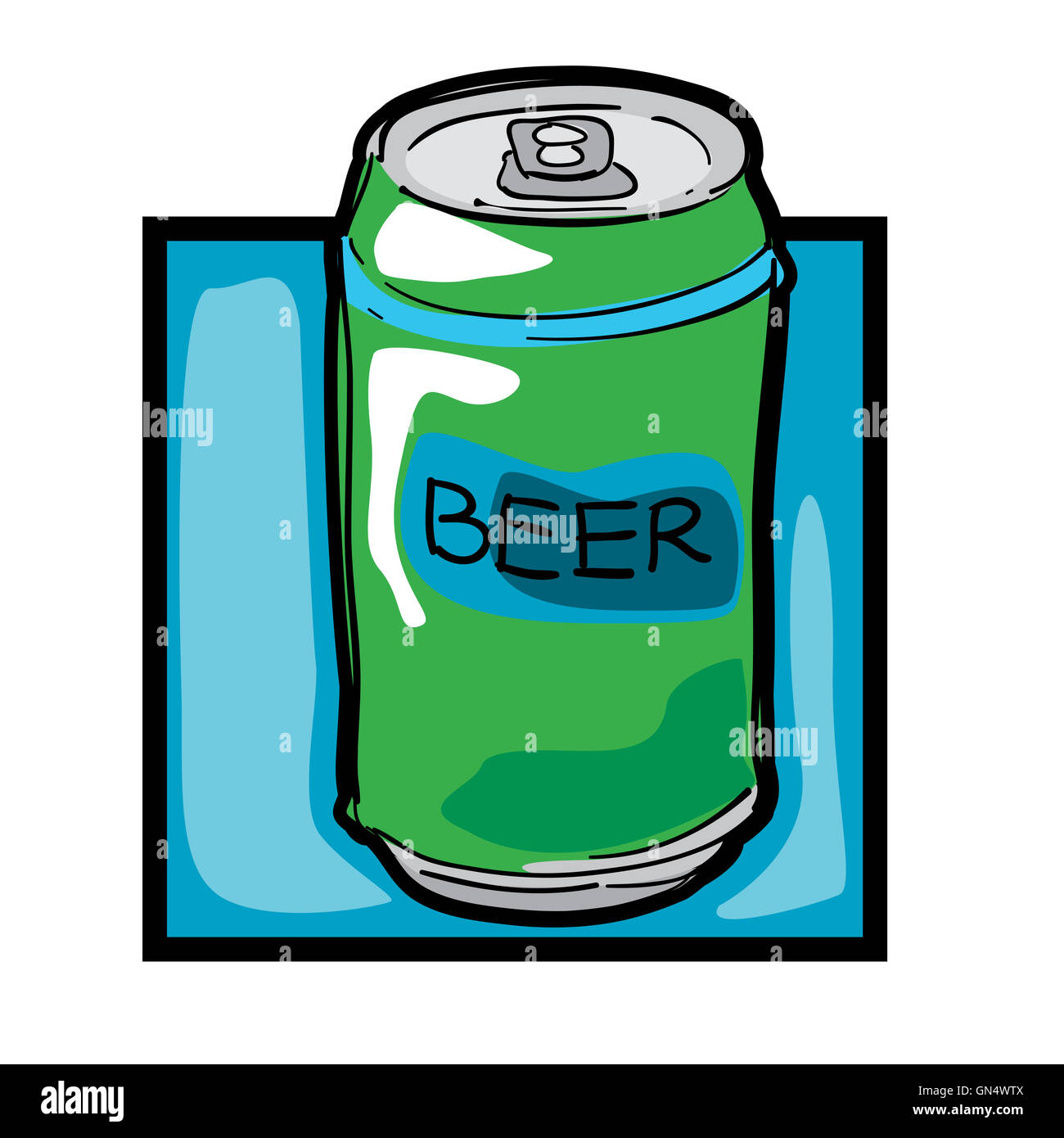 clip art beer can stock photo 116278090 alamy rh alamy com beer can pictures clip art beer can pictures clip art