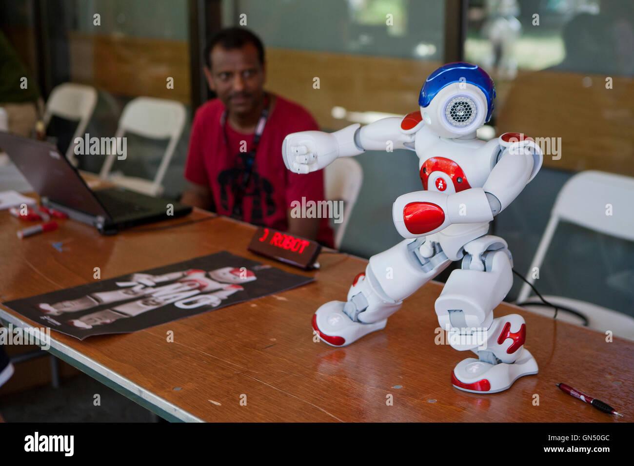 Nao the robot - USA - Stock Image
