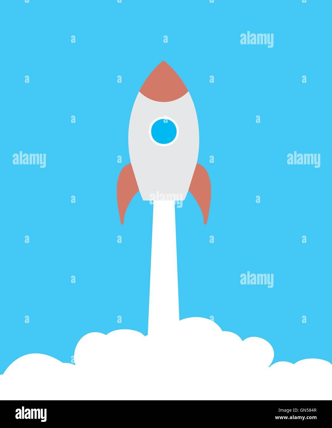 Rocket - Stock Image