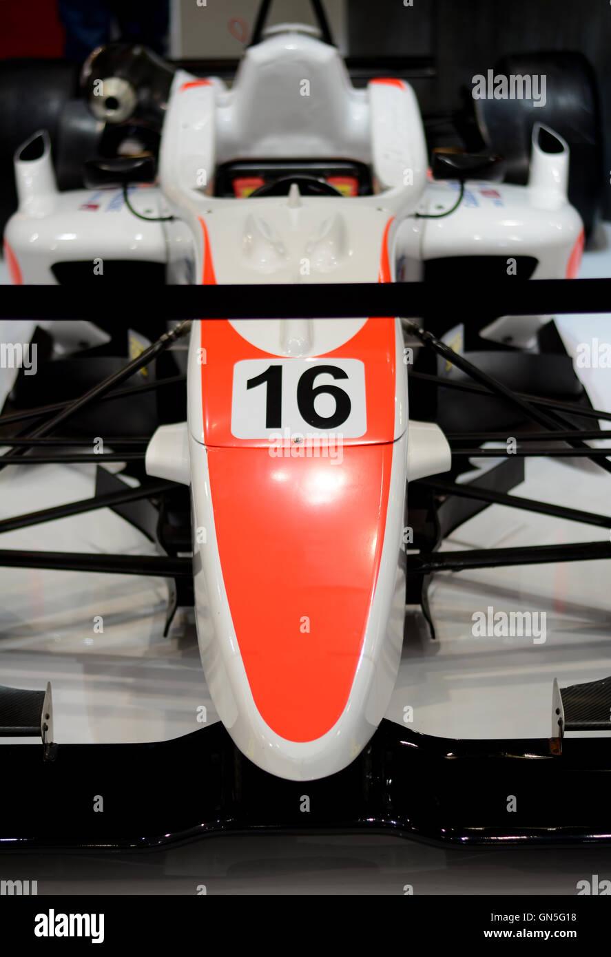 Formula 1 car, formula one car exhibition - Stock Image