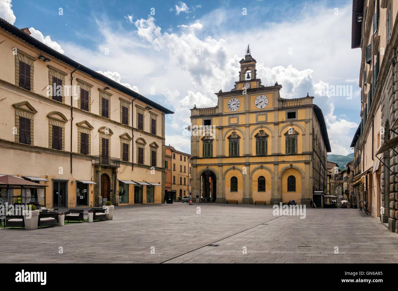 Citta di Castello (Umbria) Piazza Matteotti - Stock Image