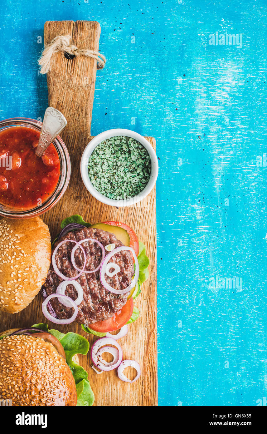 American Burger Bar Stock Photos & American Burger Bar Stock Images ...