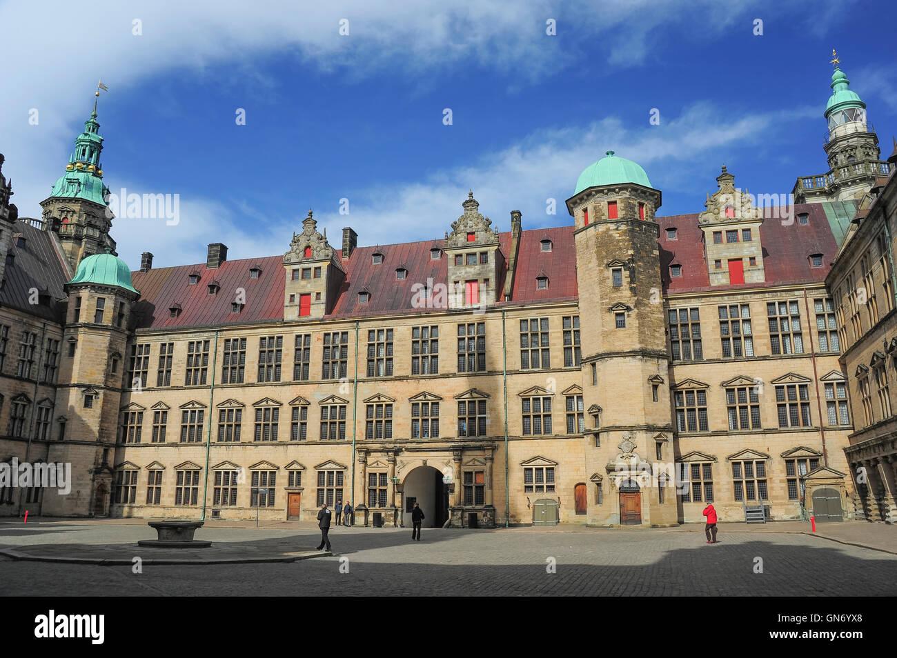 Kronborg Castle, Helsingor, Denmark - Stock Image