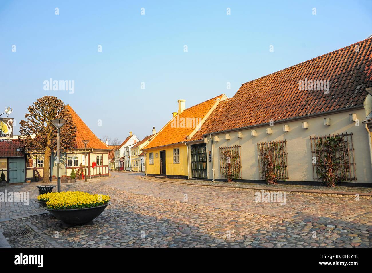 Andersen Museum, Odense, Denmark Stock Photo