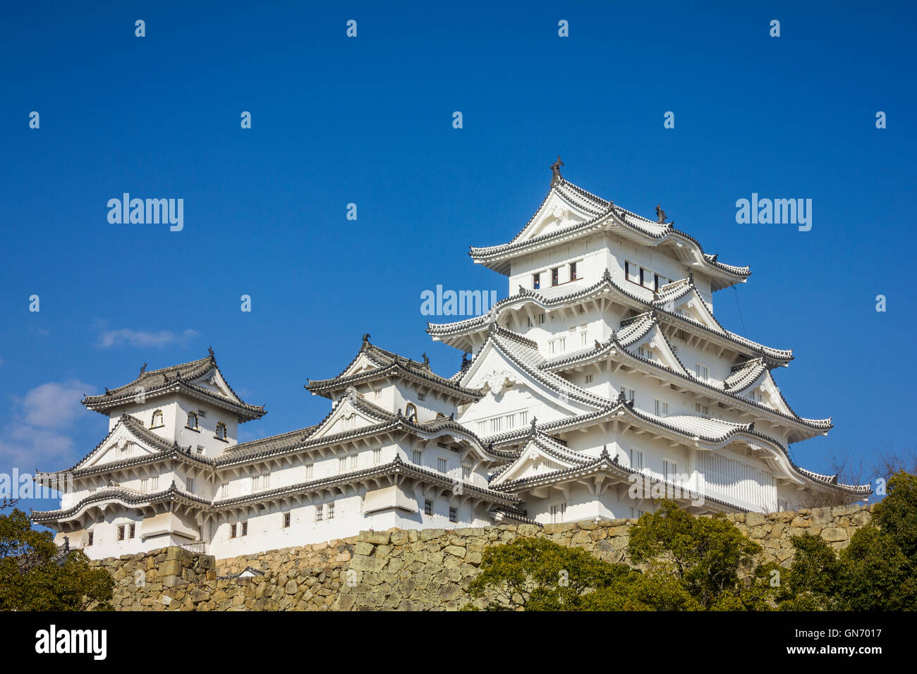Himeji castle in hyogo prefecture japan stock photo 116323683 alamy himeji castle in hyogo prefecture japan publicscrutiny Choice Image