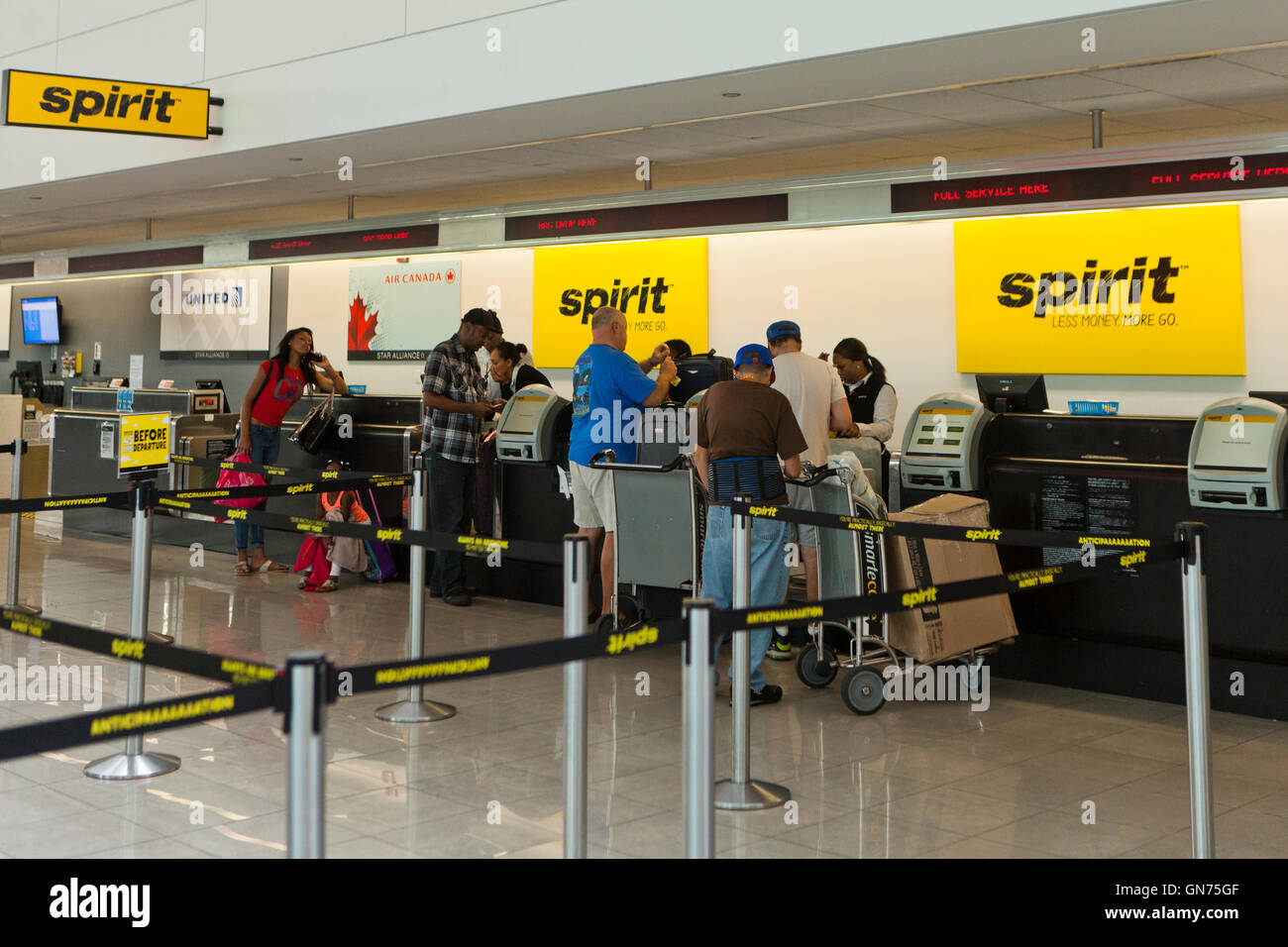 Spirit Airlines Check In >> Spirit Airlines Ticket Counter At Bwi International Airport Usa