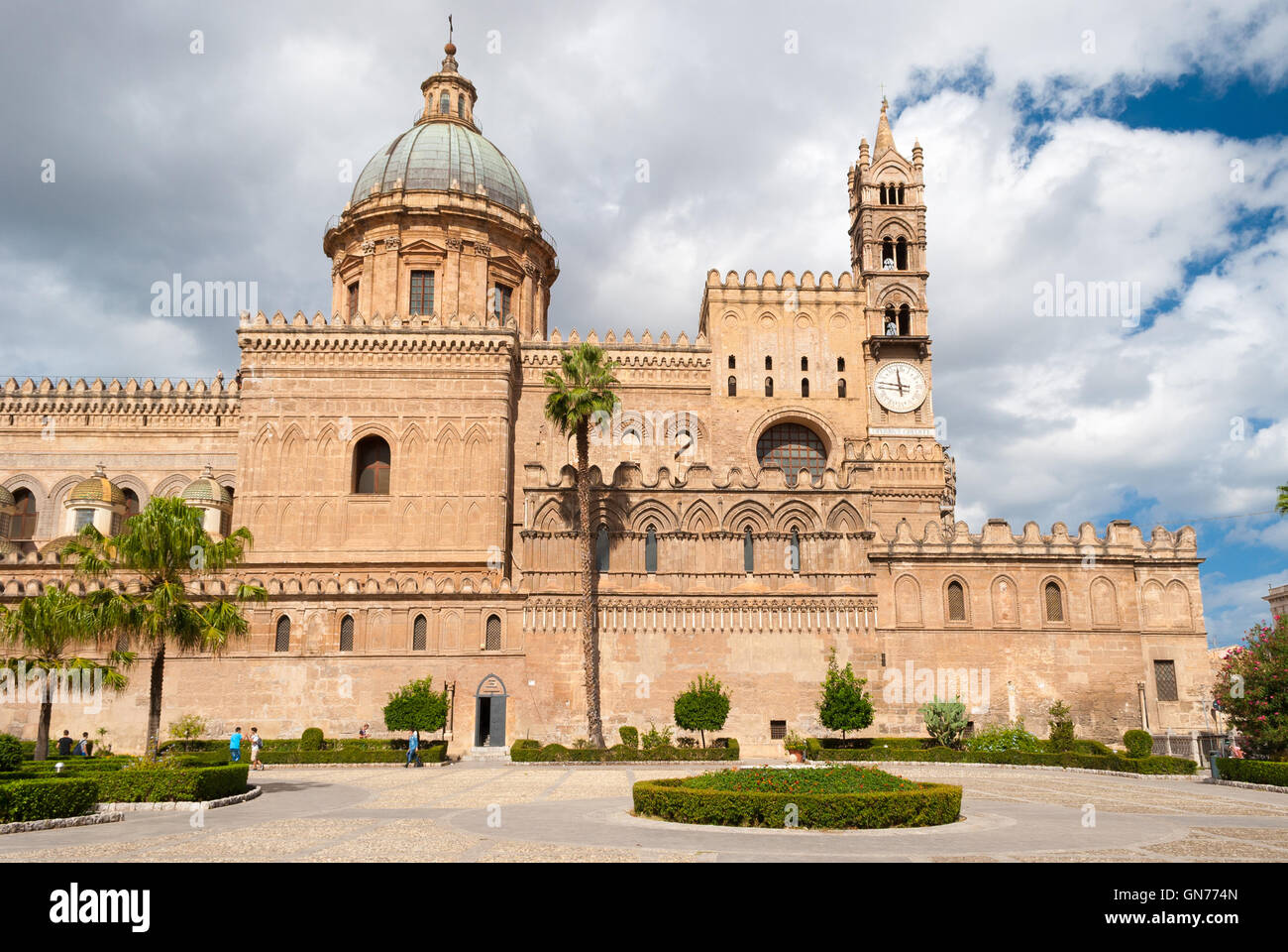The norman cathedral of Palermo, in Sicily - Stock Image