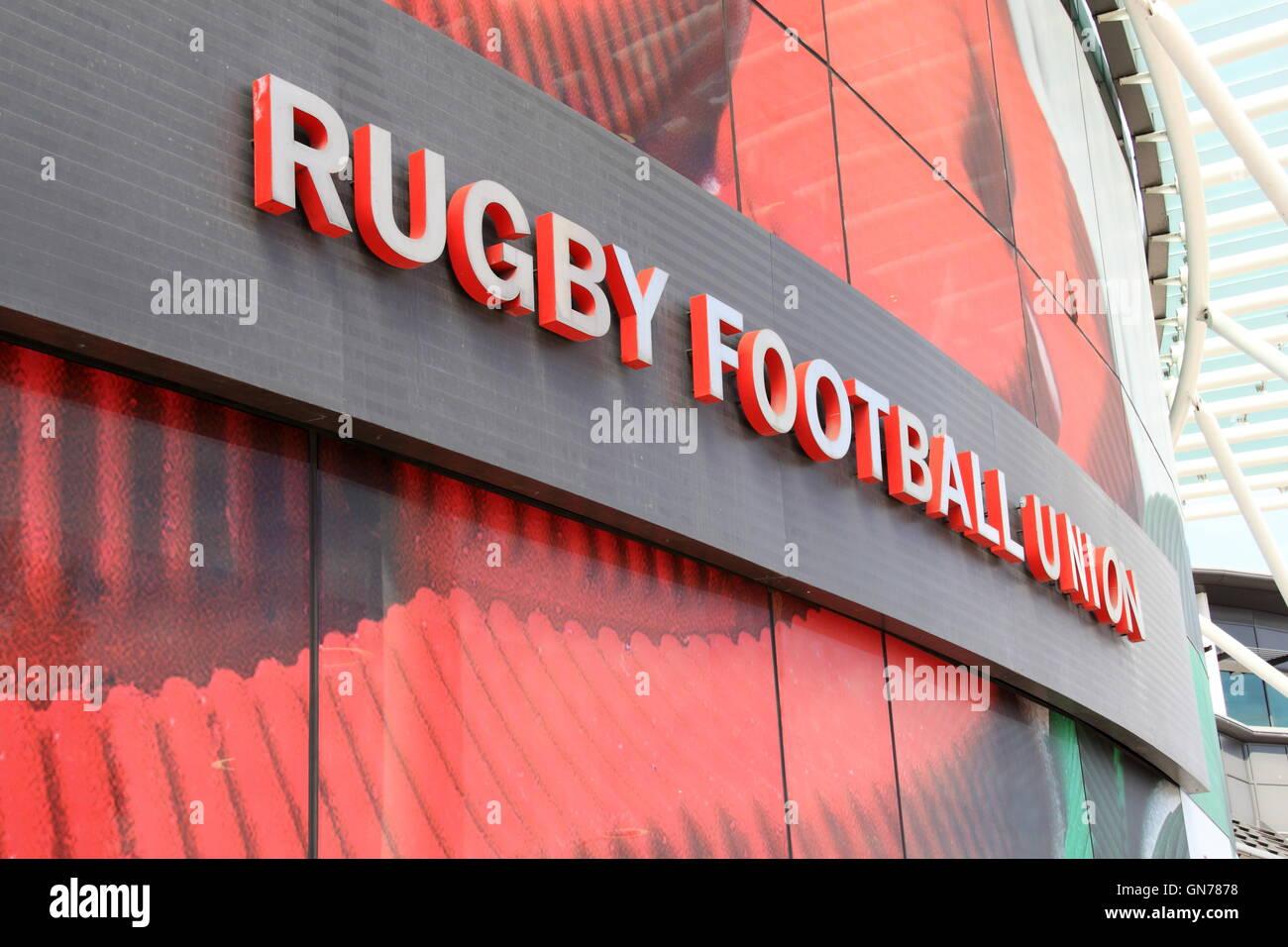 Rugby House, Twickenham Stadium, Greater London, England, Great Britain, United Kingdom UK, Europe - Stock Image