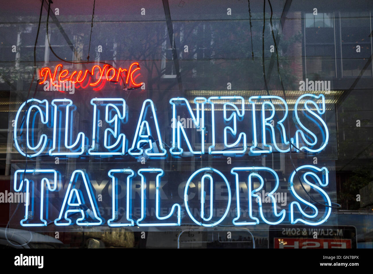 New York City Dry Cleaners Stock Photos & New York City Dry Cleaners ...